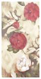 Ikat Rose III Giclee Print by Marietta Cohen