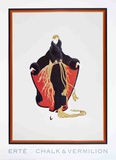 Faubourg St. Honore Collectable Print by  Erté