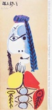 Profile of a Woman Collectable Print by Pablo Picasso