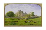 Craigmillar Castle, 1861 Giclee Print by Waller Hugh Paton
