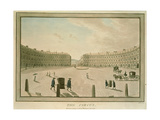 The Circus, Bath, 1773 Giclee Print by John Robert Cozens