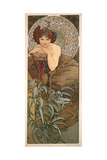 The Precious Stones: Emerald, 1900 Giclee Print by Alphonse Marie Mucha