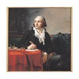 Portrait of Giuseppe Fravega (1763-1833) 1795 Giclée-tryk af Anne Louis Girodet de Roucy-Trioson
