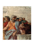Disputa, from the Stanza Della Segnatura, 1508-11 (Detail) Giclee Print by  Raphael