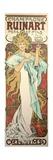 Poster Advertising 'Ruinart' Champagne, 1896 Lámina giclée por Mucha, Alphonse Marie