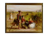 A Day's Fishing: Evening, 1866 Giclee Print by William McTaggart