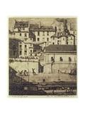 La Morgue, 1854 Giclee Print by Charles Meryon
