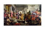Jesus with the Doctors Giclee Print by Giovanni Antonio Fumiani