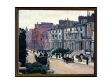From the Artist's Window, 1915-16 Giclee Print by Robert Polhill Bevan