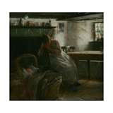 Daydreams, or 'Maternity' Giclee Print by Walter Langley