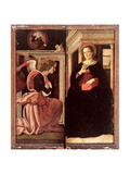 Annunciation Giclee Print by Antoniazzo Romano