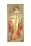 The Seasons: Autumn, 1900 Reproduction procédé giclée par Alphonse Marie Mucha