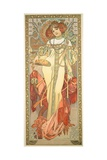 The Seasons: Autumn, 1900 Giclee Print by Alphonse Mucha