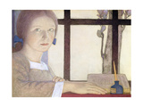 Lesson Time Giclee Print by Frederick Cayley Robinson