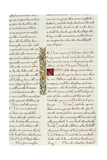 One of Two Fragments from Lancelot Du Lac (Re 223039) Giclee Print by William Morris