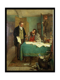 Signing the New Lease, 1868 Giclee Print by Erskine Nicol