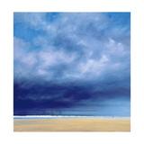 Rainstorm Off Holkham Beach Giclee Print by Derek Hare