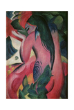 The Red Woman, 'Rote Frau', 1912 Giclee Print by Franz Marc
