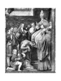 Pope Gregory VII (B.1020) Absolving Emperor Henry IV (1050-1106) Giclee Print by Or Zuccaro, Federico Zuccari