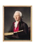 Portrait of Dazincourt (1747-1809) 1792 Giclée-Druck von Francois Andre Vincent