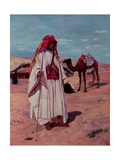 Sir Richard Burton (1821-90) in Arab Dress, 1854 Giclee Print by Thomas Seddon