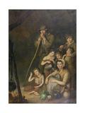 Irish Emigrants Giclee Print by John Joseph Barker