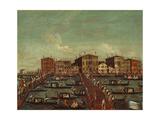 Corso Dell Cortigiane in Rio Della Sensa, Venice Giclee Print by Gabriele Bella