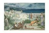 The Greek Colony, Marseille, 1869 Giclee Print by Pierre Puvis de Chavannes