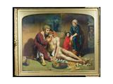 The Good Samaritan, 1857 Giclee Print by Philip Richard Morris