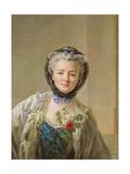 Portrait of Madame Drouais (C.1732-C.1815) c.1758 Giclee Print by Francois-Hubert Drouais
