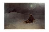 Woman in the Wilderness, 1923 Lámina giclée por Mucha, Alphonse Marie