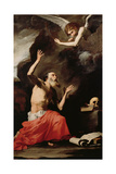 St. Jerome and the Angel of Judgement Giclee Print by Jusepe de Ribera