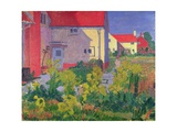 Harold Gilman's House at Letchworth Giclee Print by Spencer Frederick Gore