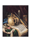 Vanitas Giclee Print by Simon Renard De Saint-andre