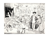 'Of Course, We Go Flat Out for the Ego Here', Punch, 27th November 1935 Giclee Print by  Pont