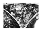 The Brazen Serpent, from the Sistine Ceiling Giclee Print by  Michelangelo Buonarroti