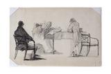A Musical Evening Giclee Print by John Harden