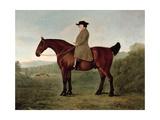Robert Bakewell (1725-95) on Horseback Giclee Print by John Boultbee