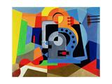 Mechanical Idol Giclee Print by Luigi Colombo Fillia