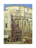 Theatre of Marcellus, Rome Giclee Print by Thomas Hartley Cromek