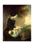 Portrait of Mary Isabella Grant Giclee Print by Sir Francis Grant
