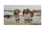 The Breadwinners, or Newlyn Fishwives Giclee Print by Walter Langley