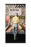 Skee Ball, My Father (Coney Island) 1990 Giclee Print by Max Ferguson