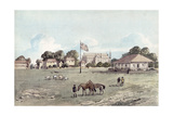 Lord's Cricket Ground in 1837, c.1860 Giclee Print by  English School