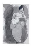 Reading Giclee Print by John Harden