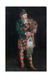 A Piper, 1885 Giclee Print by William Kennedy