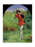 Ferdinand Lured by Ariel, 1849-50 Giclee Print by Sir John Everett Millais