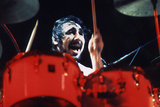 Keith Moon Red Drums Poster