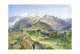 The Great Wall of China, 1874 Giclee Print by William 'Crimea' Simpson