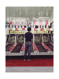 Skee Ball, Self Portrait (Coney Island) 1990 Giclee Print by Max Ferguson